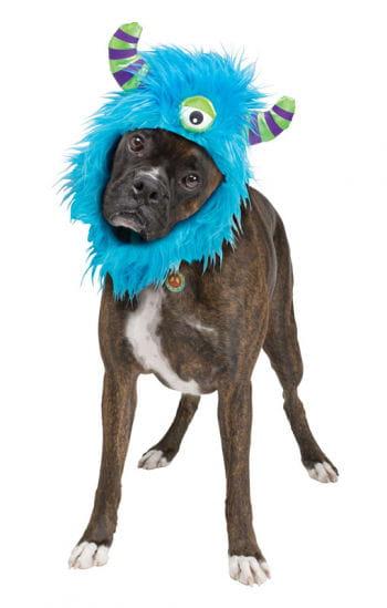 Monster Mütze für Hunde blau