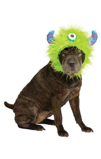 Monster Mütze für Hunde grün