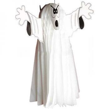 Weißer Neon Geist 55cm