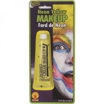 Neon Make Up gelb