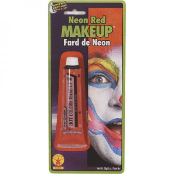 Neon Make Up rot