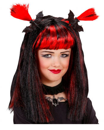 Halloween Kids Wig red
