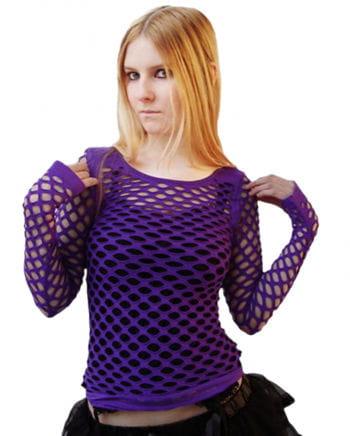 Netztop Violett