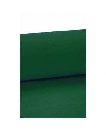 Niflamo Krepp Papier dunkelgrün 10 Meter