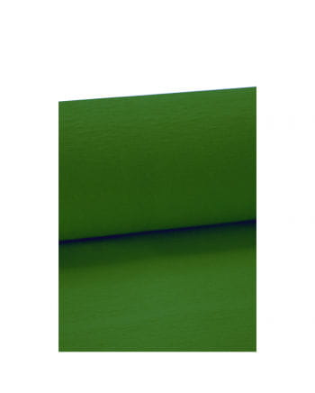 Niflamo Krepp Papier grün 10 Meter