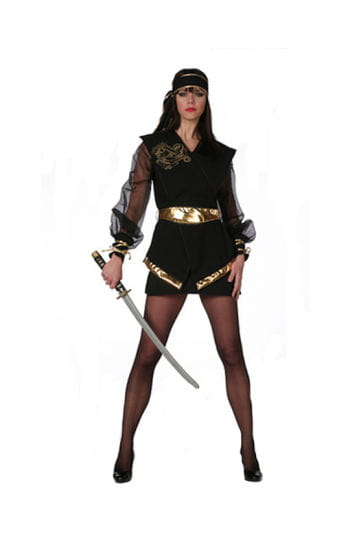 Ninja Lady Costume Plus Size