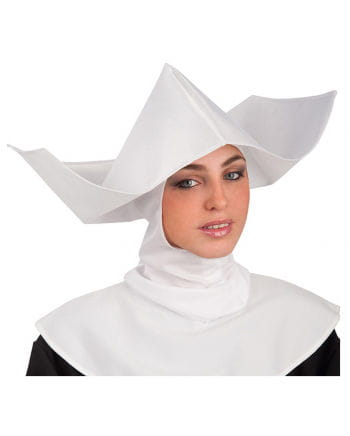 Nuns white headdress