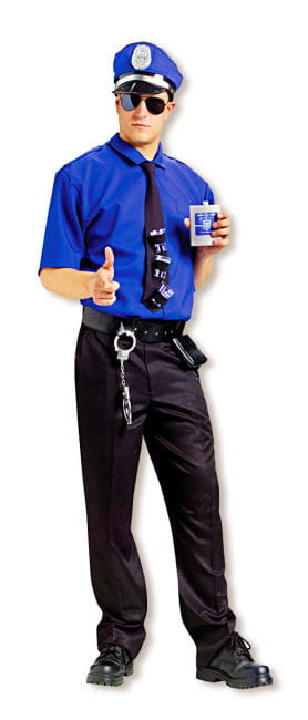 Officer Boozer Costume