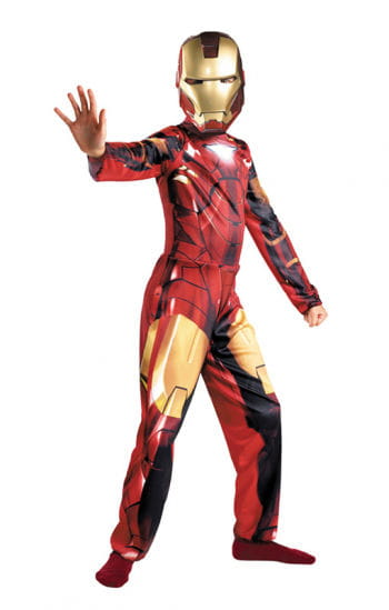 Officially Licensed Iron Man Child Costume