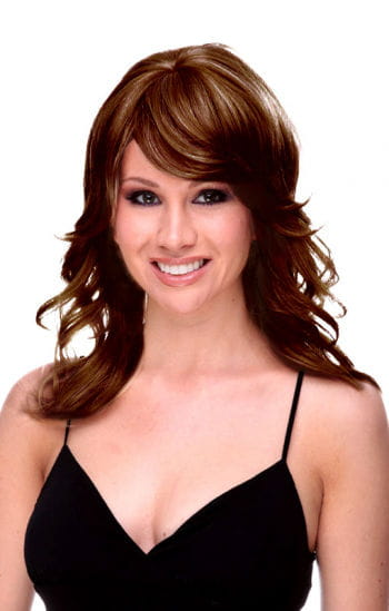 Ohara long brown hair wig