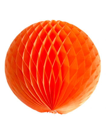 Honeycomb ball 30cm orange