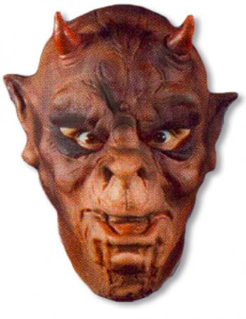 Orc mask made of foam latex
