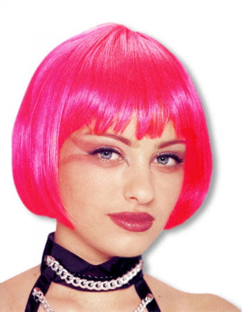 Pageboy wig Hot Pink