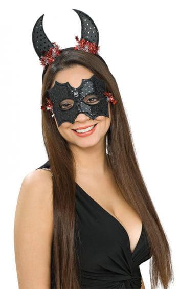 Fledermaus Augenmaske mit Fledermaus Ohren