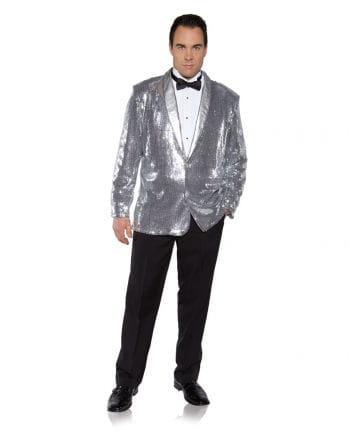 Pailletten Jacket silber
