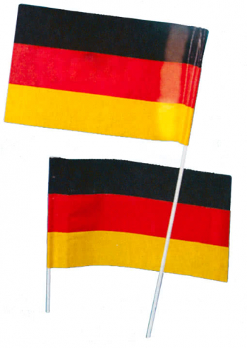 Paper Flag Germany 50 PCS