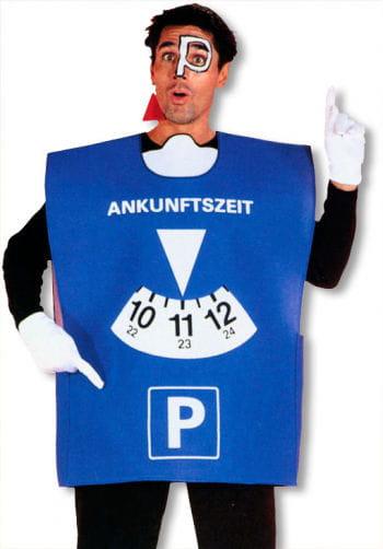 Parkscheibe Kostüm