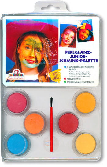 Pearlescent Makeup Colours Set