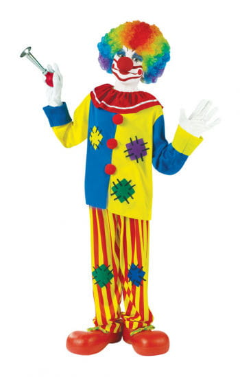 Colourful Clown Child Costume