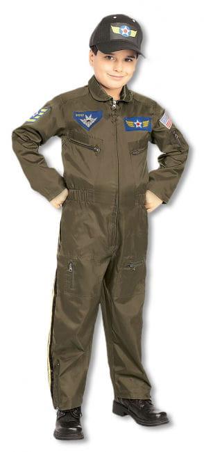 Pilot Child Costume L L