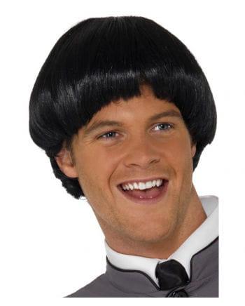 Mushroom head wig Black