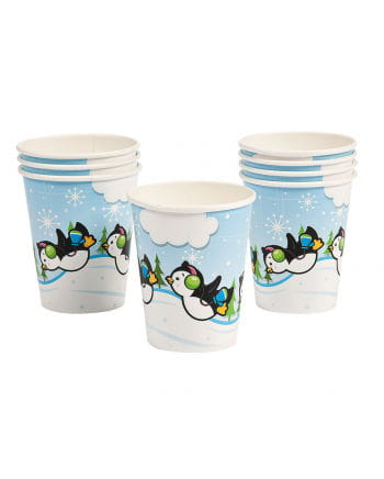Penguin Party Paper Cup