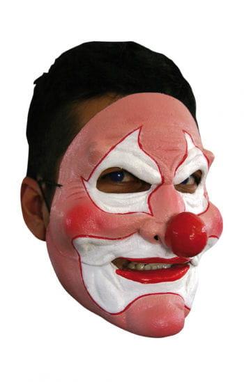 Pink Clown Maske