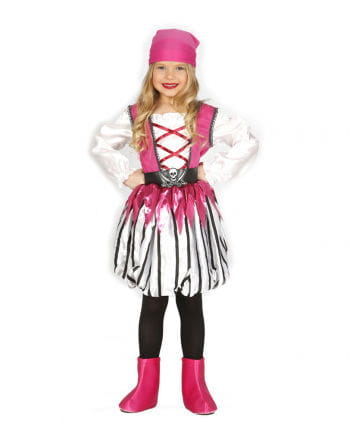 Pink Pirate Child Costume