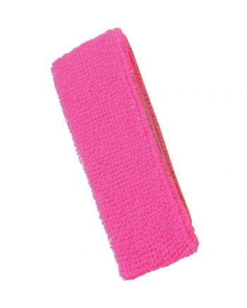 Neon Stirnband Pink