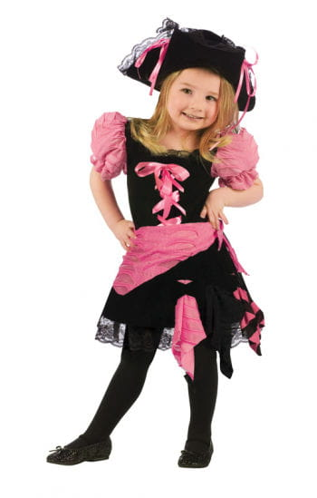 Pinkie Pirate Girl Toddler Costume