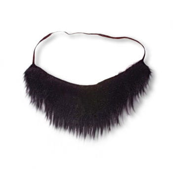 Pirate Beard Black with Elastic
