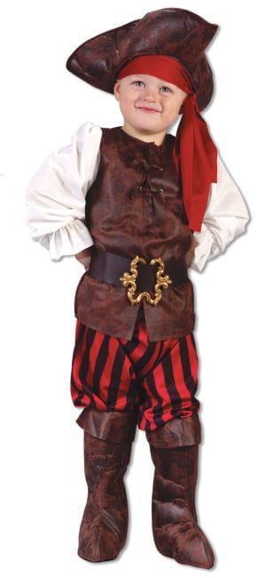 Pirate Costume Small Children L