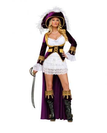 Piraten Königin Deluxe Kostüm