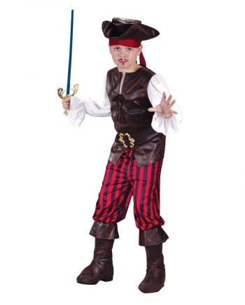 Pirates Deluxe Child Costume. S