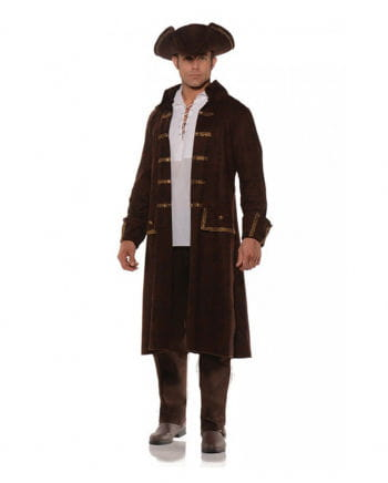 Pirate costume cloak with a hat