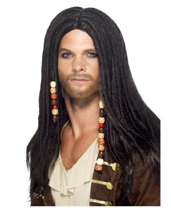 Pirate wig, with plaits