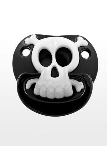 Piraten Totenkopf Schnuller