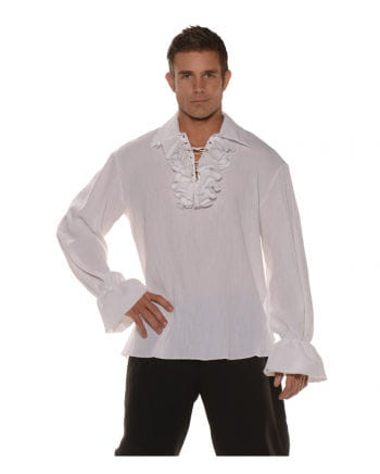 Pirate shirt with ruffles and lace