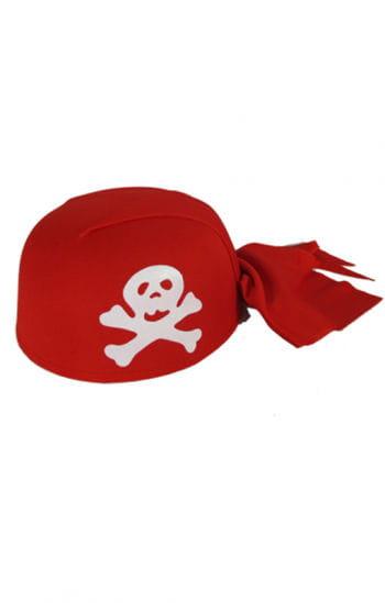 Piratenkappe rot