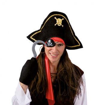 Piratenperücke mit Zubehör
