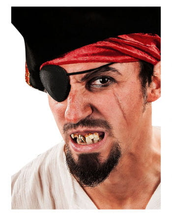 Terrible pirate teeth