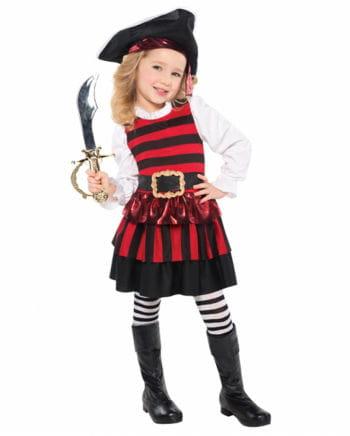 Piratin Kleinkinderkostüm