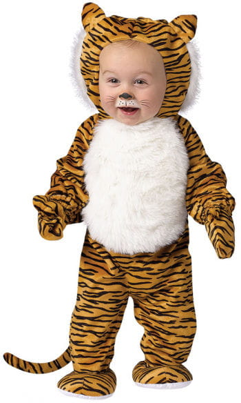 Plush Tiger Baby Costume L