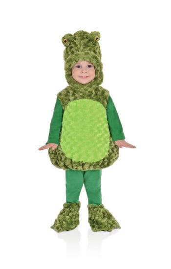 Plush Frog Child Costume
