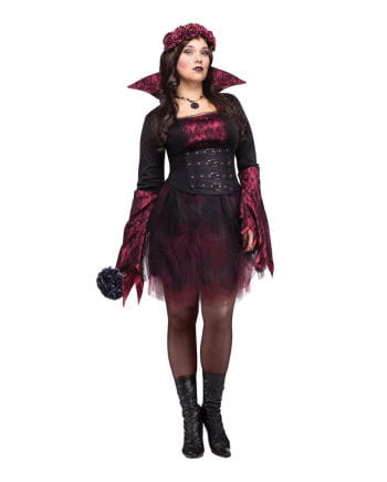 Gothic Rose Vampiress Costume XL