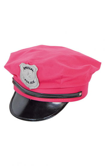 Police cap pink