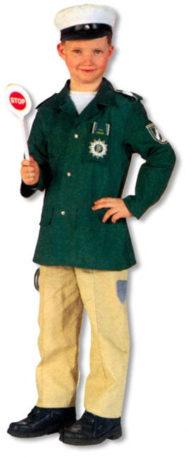 Polizei Uniform Kinderkostüm