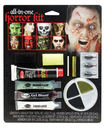 Family Horror Make Up Kit