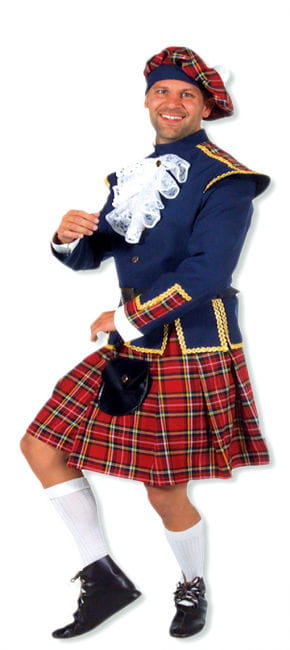 Premium Scots Costume Plus Size