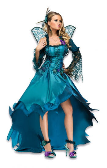 Peacock fairy costume Deluxe